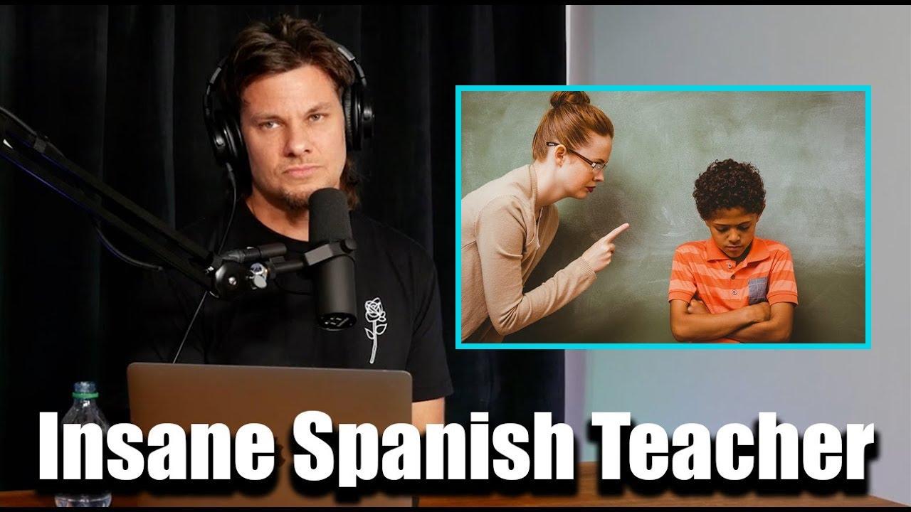 Theo Von's Insane Spanish Teacher