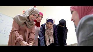 UN Women incentive-based volunteerism programme in the Oasis Centre in Jordan