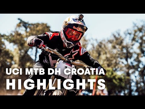 UCI MTB 2018: Downhill racing highlights from Croatia.