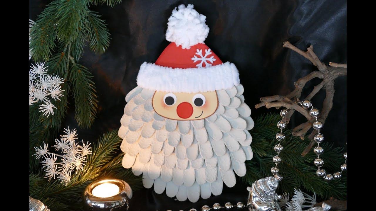 Nikolaus Basteln Weihnachtsmann Basteln Santa Claus дед мороз Tinker Santa