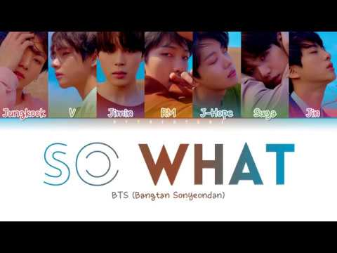 BTS (방탄소년단) - So What (Color Coded Lyrics/Han/Rom/Eng)