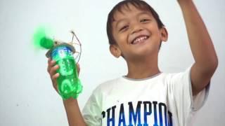 Membuat Kipas Angin dari Botol Bekas