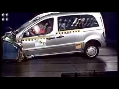 Crash Test Mercedes-Benz Vaneo 2002