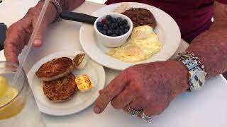 Old School Bodybuilding Protein Lunch with Ric Drasin