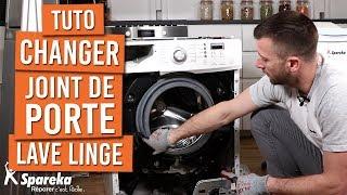 Comment changer le joint de porte d'une machine à laver