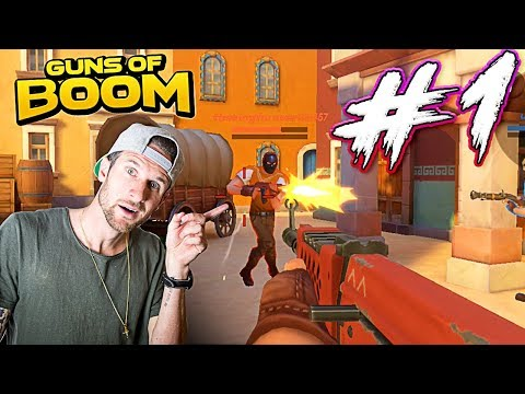 WOW #1 IN GAME!! - Guns of Boom - Let's Play!