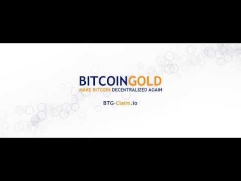 Bitcoin GOLD Wallet: How To Claim Bitcoin Gold