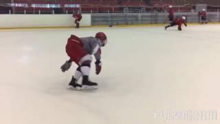 Скольжение на внешних рёбрах. Outside edge. Skating skills.