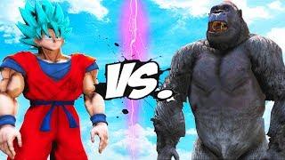 GOKU VS KING KONG - EPIC BATTLE