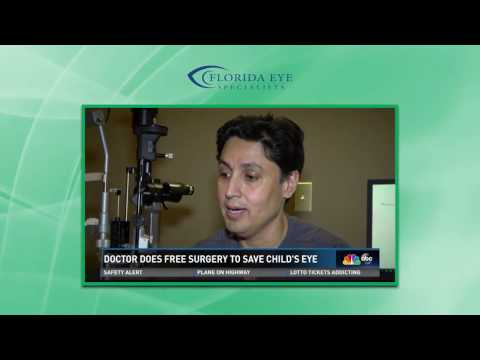 Dr  Akbar Hasan Florida Eye Specialists First Coast News Pro Bono Surgery