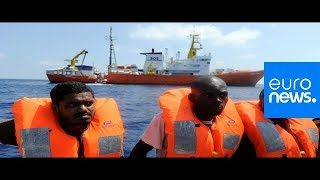 Euronews reports from the heart of Europe's migration crisis | Review 2018 Video