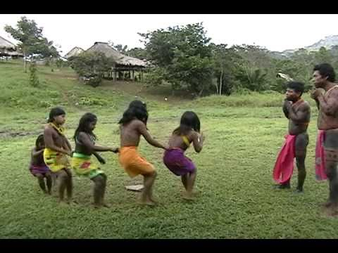 Panama - Embera Children Dance