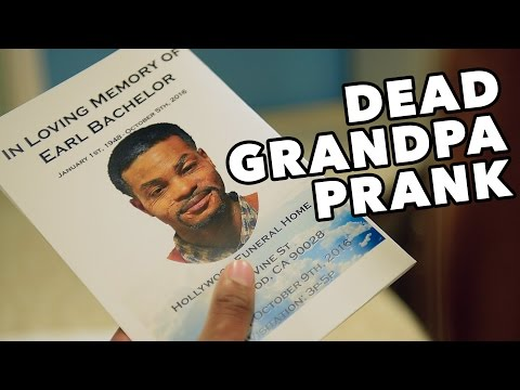 DEAD GRANDPA PRANK GONE WRONG