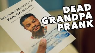 One of BachelorsPadTv's most viewed videos: DEAD GRANDPA PRANK GONE WRONG