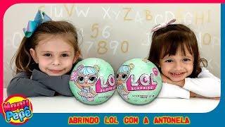 LOL Surprise com Amiguinha Antonela | #manuepepe