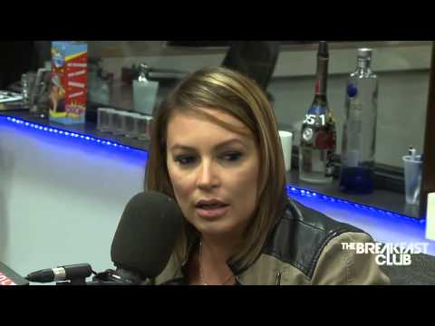 Angie Martinez Interview at The Breakfast Club Power 105 1 06 24 2014