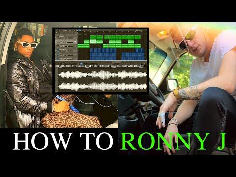 HOW TO RONNY J   OMG RONNY TYPE BEAT   LOGIC PRO X