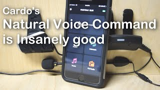 Cardo PACKTALK BOLD/SLIM VOICE COMMAND ABILITY!