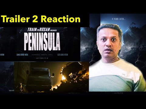 PENINSULA 반도 Official Trailer 2 Reaction (2020) | Train to Busan 2  Zombie Movie | South Korean