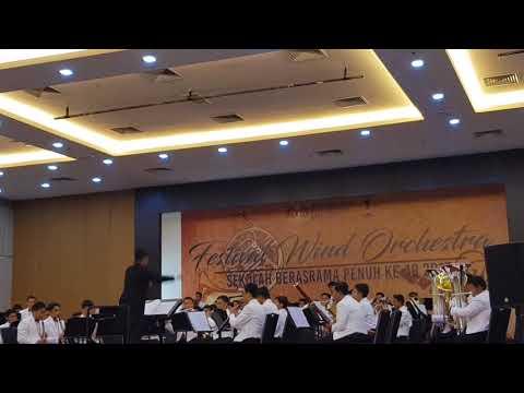Festival Wind Orchestra SBP Ke 19 '17 by Malay College Wind Orchestra (Mentera Semerah Padi)