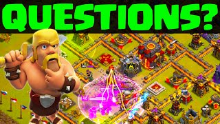 Clash of Clans ♦ Your Questions ANSWERED! ♦ CoC ♦