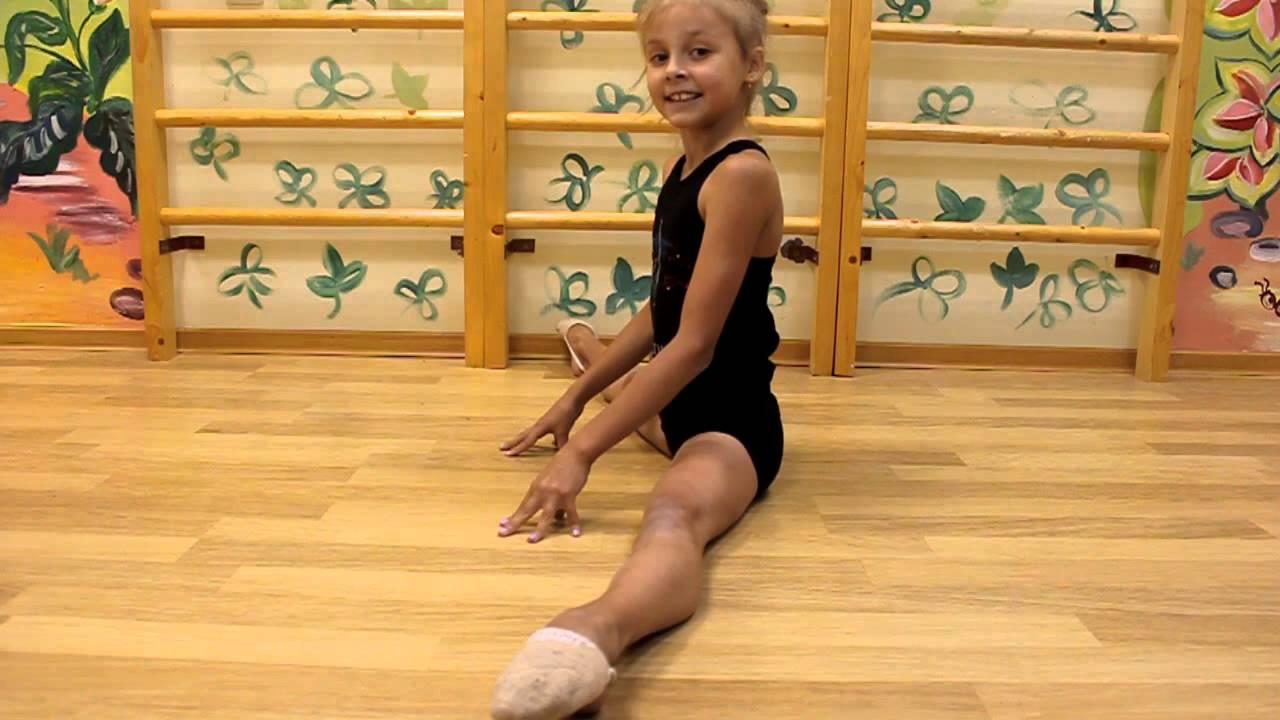 Художественная гимнастика №3. Поперечный шпагат.