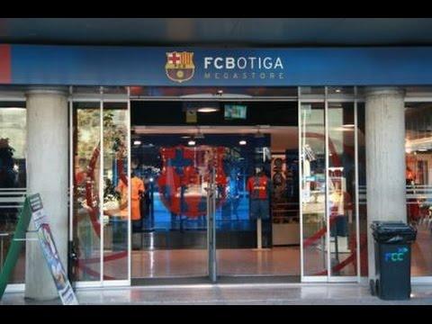 FC Botiga Megastore - FCBarcelona Official Megastore - Dec 2016 - YouTube b2dab579b97