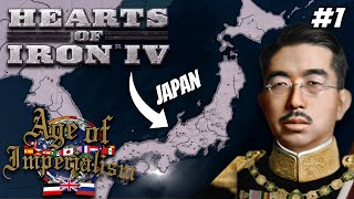 Japanese Constitutional Monarchy Must Endure! Hoi4 - Age Of Imperialism, Japan #1