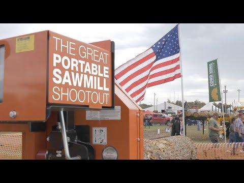 2017 Great Portable Sawmill Shootout | Wood-Mizer
