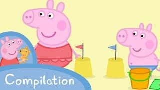 Peppa Pig Episodes - Summer compilation - Cartoons for Children