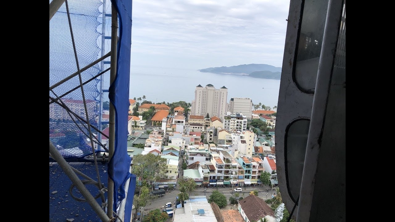 View toàn cảnh Nha Trang City Central tầng 20, ngày 31/05/2018