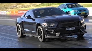 WORLD'S FASTEST S550 N/A MANUAL MUSTANG NORTHMEAD AUTO CENTRE LUND RACING 10.62 @ 132 MPH