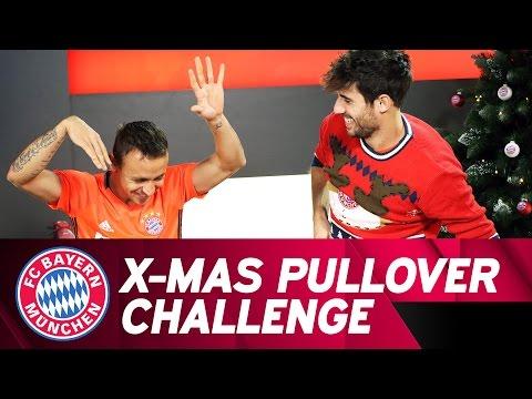 Rafinha vs. Javi Martínez | X-Mas Sweater Challenge