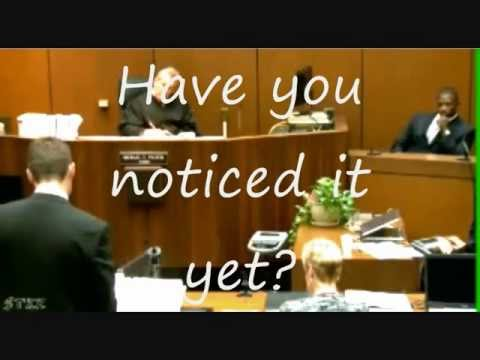 Micheal Jackson  Ghost in court!?
