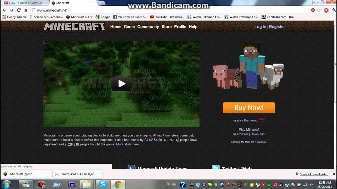 Как создать свой сайт для сервера minecraft - YouTube