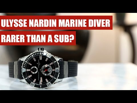 Ulysse Nardin Marine Diver Review | The Most Underrated Submariner Alternative | 263-10-3/92