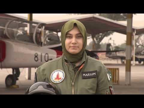 Pakistan female fighter pilot dies in crash mp4
