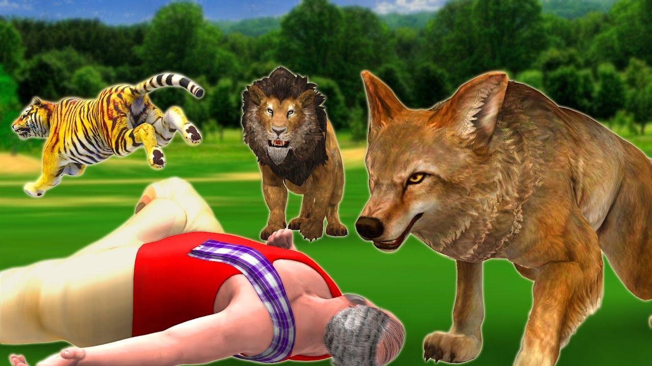 होशियार सियार - Clever Fox Hindi Kahaniya - 3D Animated Panchatantra Moral Stories   Animal Stories