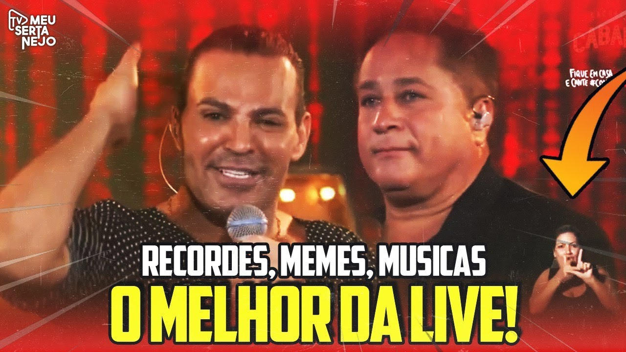 LIVE do CABARÉ - SAIBA TUDO QUE ROLOU! (Melhores Momentos, recordes, memes, musicas)