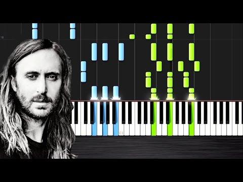 David Guetta - Hey Mama ft. Nicki Minaj - Piano Cover/Tutorial by PlutaX - Synthesia