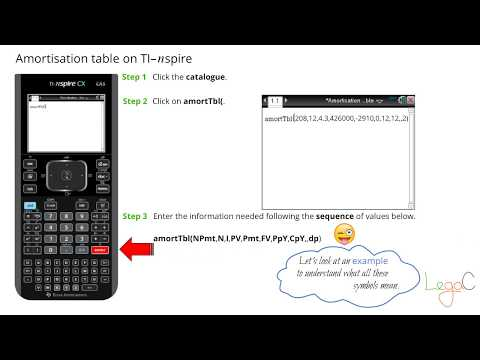 amortisation-table-on-ti-nspire