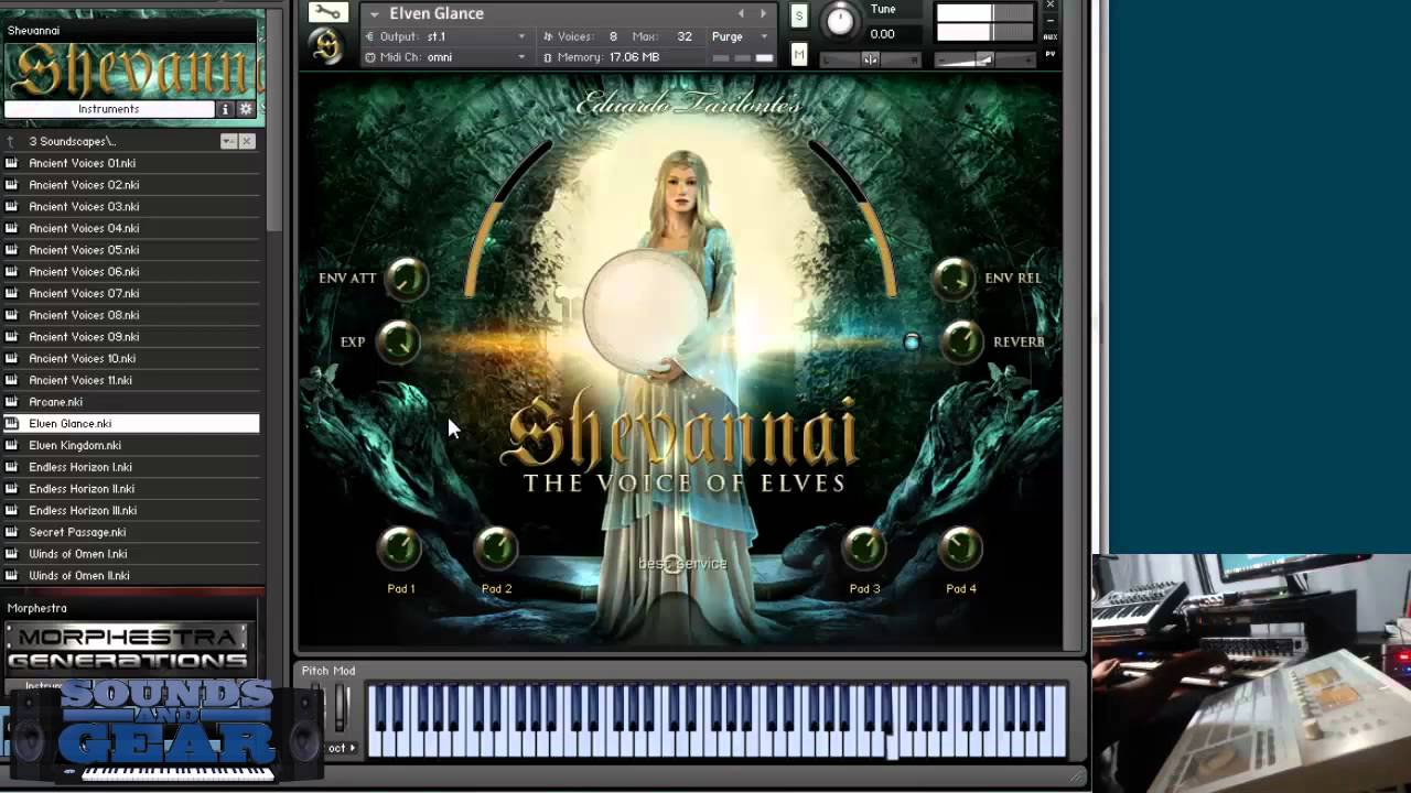 Shevannai the Voices of Elves KONTAKT Library Download
