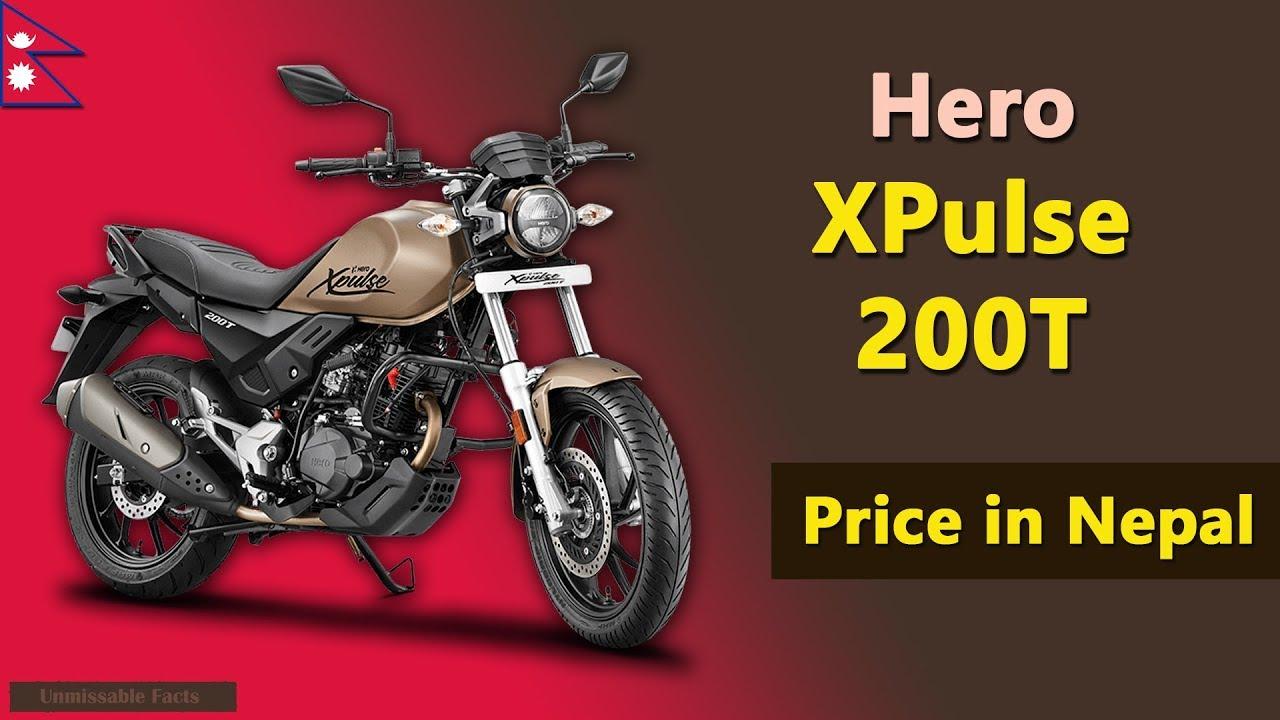 Hero Xpulse 200t Price In Nepal Youtube