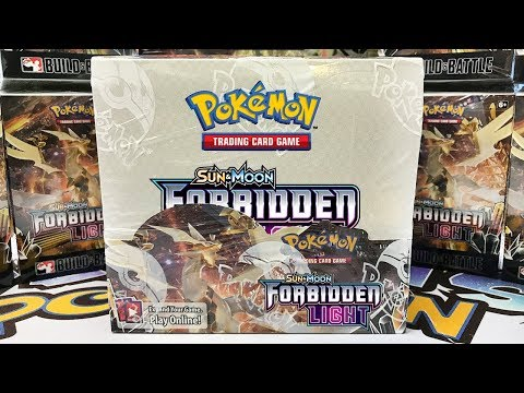 Opening Another Early Pokemon Forbidden Light Booster Box!