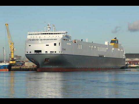 Dublin Port Company - M.V. Celine Christening