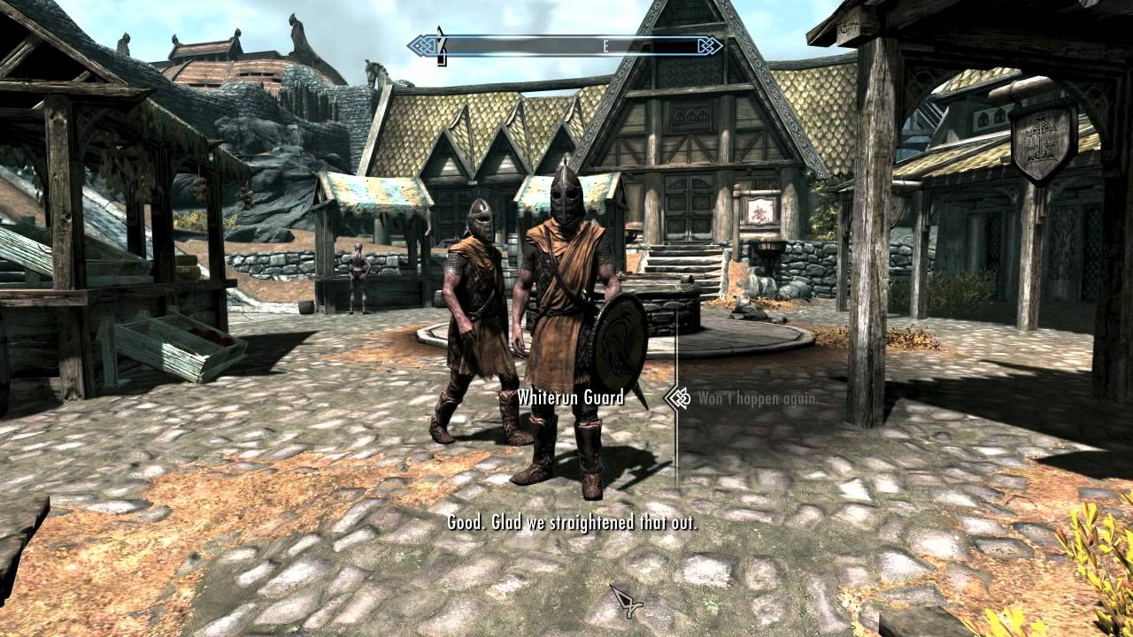 Skyrim: stop right there criminal scum
