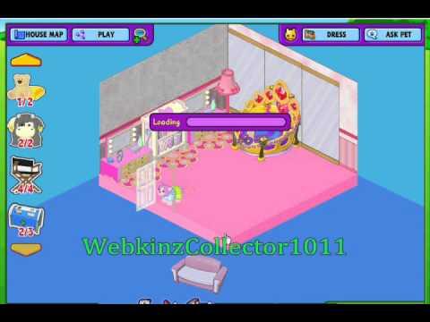Decorating Cheerilee's Room On Webkinz!