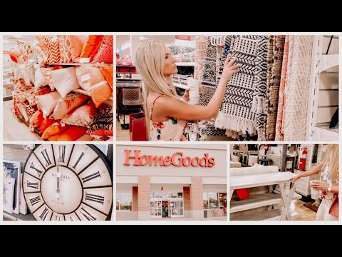 SHOP WITH ME AT HOMEGOODS FOR NEW DECOR | AFFORDABLE HOME DECOR
