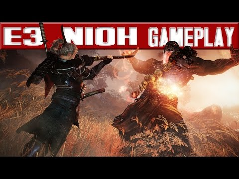 Nioh - 15 minutes of exclusive Gameplay - New Boss, Weapons & Stage