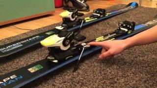 как правильно надеть и отрегулировать горнолыжные крепления (На примере лыж HEAD SUPERSHAPE I.TITAN)